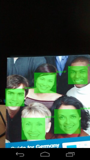 Face Detection with the Android API