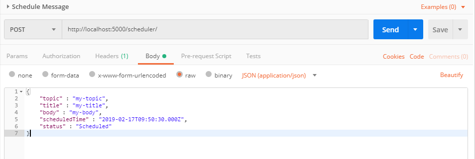 Scheduling Messages with Quartz NET
