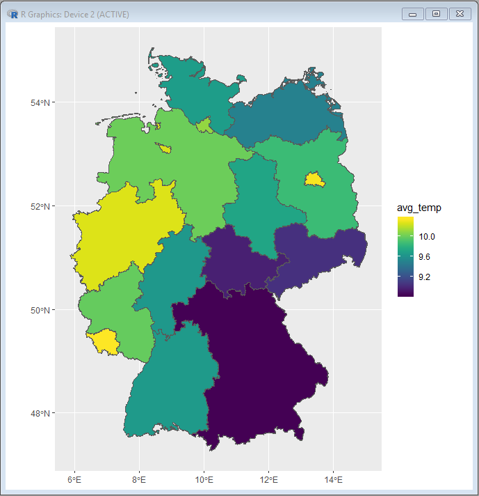 Timeseries Databases Part 4: Generating Choropleth Maps with